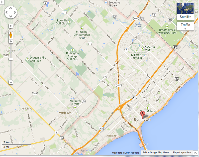 Burlington Canada Map Related Keywords Amp Suggestions